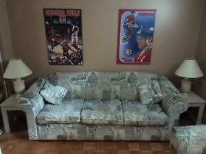 Couch, love seat & tables