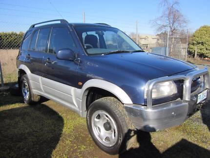 1999 Suzuki Grand Vitara Wagon Westbury Meander Valley Preview