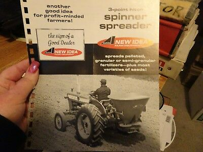 Used, New Idea 3 Point Hitch Spinner Spreader Deal