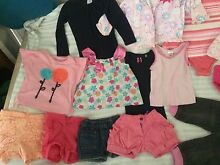 Bulk baby clothes girls size 1 Highland Park Gold Coast City Preview