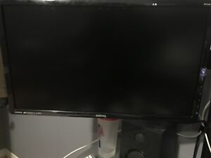 2 MONITOR FOR SALE WITH ARM STAND FOR SALE