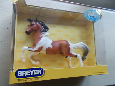 2007 Breyer Treasure Hunt Where in World is Pegasus Bay Tobiano Mustang Silver