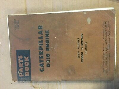 Caterpillar 950 Traxcavator Parts Book
