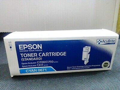 Toner EPSON - Cyan 0671