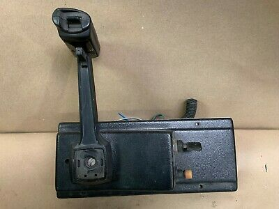 USED MORSE UNIVERSAL FLUSH MOUNT CONTROL BOX TRIM SWITCH & KEY SWITCH