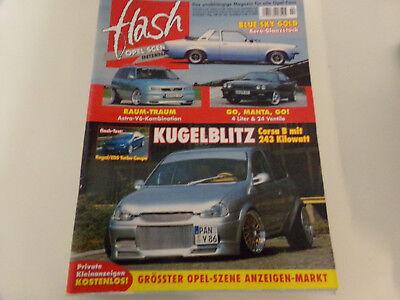 Opel Flash 2/2003 Kadett Aero - Manta 4,0 - Corsa B - Astra V6 - Senator B - GSI for sale  Shipping to South Africa