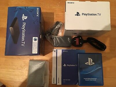 New Sony Playstation TV / PS Vita TV - Low 3.60 FW (Henkaku Ready) PS4 / PS3
