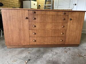 Wooden Buffet South Brighton Holdfast Bay Preview