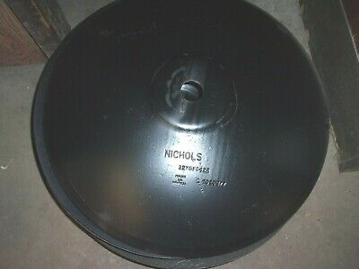 Nichols 22 Disc Blades With Crimped Center 1 12 Hole