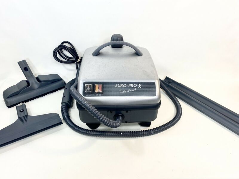Euro-Pro X SC410 Professional Steamer Steam Cleaner With Attachments