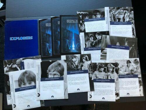 Explorers (Phoenix/Hawk 1985)- Original Movie Press Kit Envelope w/Photos & News