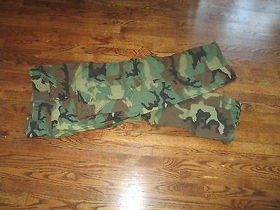 m65 pant , woodland, large long, new old stock. 1985 for sale  East Hampton