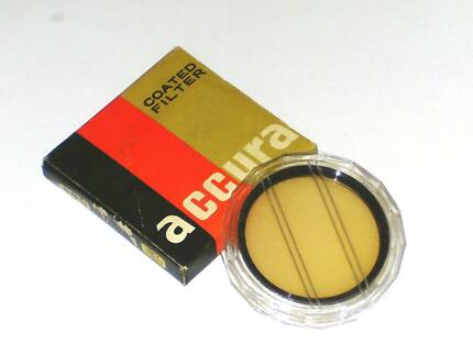 CAMERA FILTER: 58mm Skylight (1A) - new in pack $10