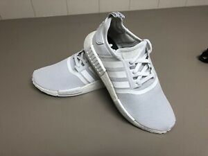 ALL WHITE Adidas NMD Size 9