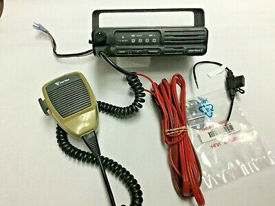 Vertex Vx-2000 Uhf 450-480 Mhz 25 Watt 4 Ch Mobile With Mic Bracket Screws