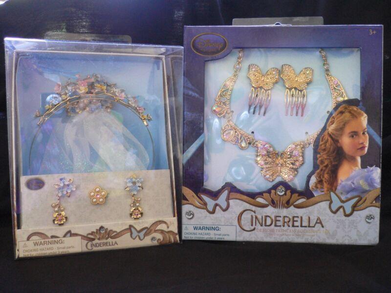 CINDERELLA~Film~DELUXE~Costume~Accessory Set~WEDDING or PRINCESS~Disney Store