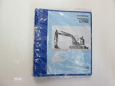 Volvo Construction Equipment Ecr145e Preventative Maintenance Manual New Factory