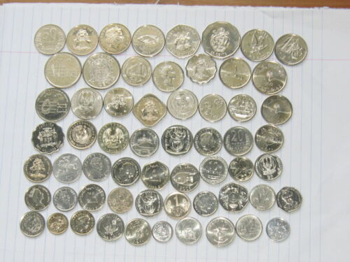 Lot of 60 world coins #3