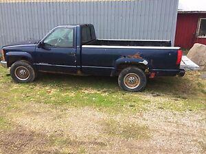 1995 chevy ck2500 6.5l turbo diesel plow package