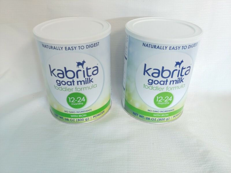 2 -Kabrita Goat Milk Toddler Formula, 28 oz With Iron Powder