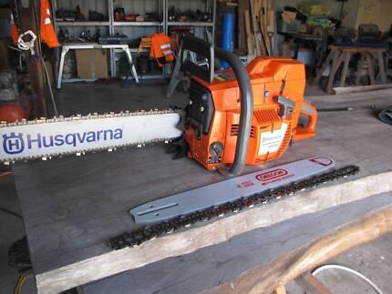 Husqvarna 395xp, as new professional chainsaw