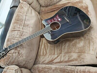 Tanglewood TW5 BS cutaway Dreadnought Electro Acoustic Guitar