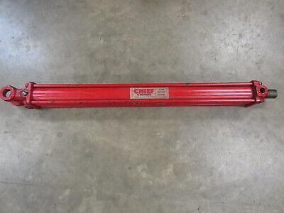 Chief 214-10 Hydraulic Cylinder 2500 Psi Max 24 Stroke 1-18 Rod Nnb