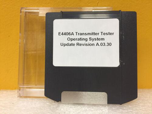 Agilent / HP E4406A Transmitter Tester, OS Update A.03.03. ZIP Disk, New!