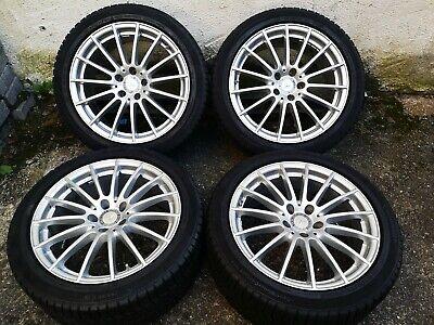 Orig. Mercedes CLS 218 Winterkompletträder RDKS 255/40 R18 DOT5015/4,5-7,5 mm