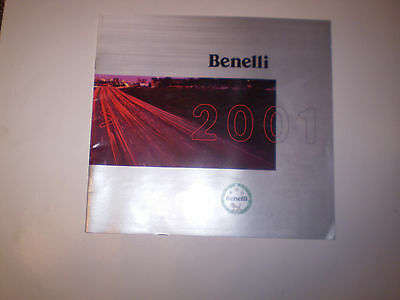 BENELLI SCOOTERS  SALES BROCHURE 2001