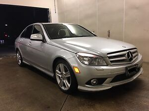 2009 Mercedes Benz C300 4Matic+Nav clean well maintained