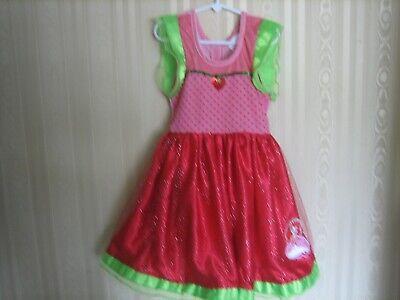 Strawberry Shortcake Costumes For Girls (girls strawberry shortcake dress costume size)
