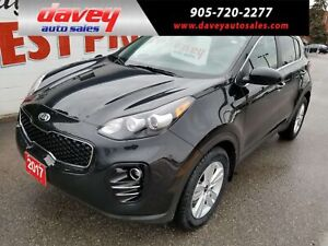 2017 Kia Sportage LX ALL WHEEL DRIVE, BACK UP CAMERA