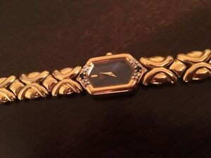 Women's Seiko gold watch