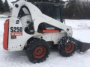 Bobcat s250 skidsteer 2009 with two speed