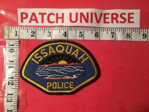 ISSAQUAH WASHINGTON POLICE  SHOULDER PATCH  G097