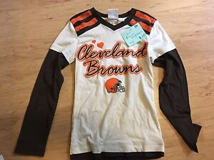 Girls Cleveland Browns shirt