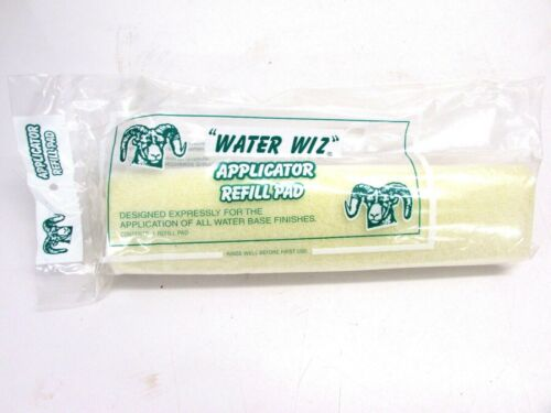 "NOS! ""WATER WIZ"" 12"" APPLICATOR REFILL PAD #31201"