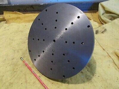 10 Face Plate For Cincinnati No. 2 Tool Cutter Grinder Workhead 12 Bs