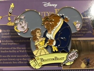 Disney Magical Moments Beauty And The Beast Belle Pin