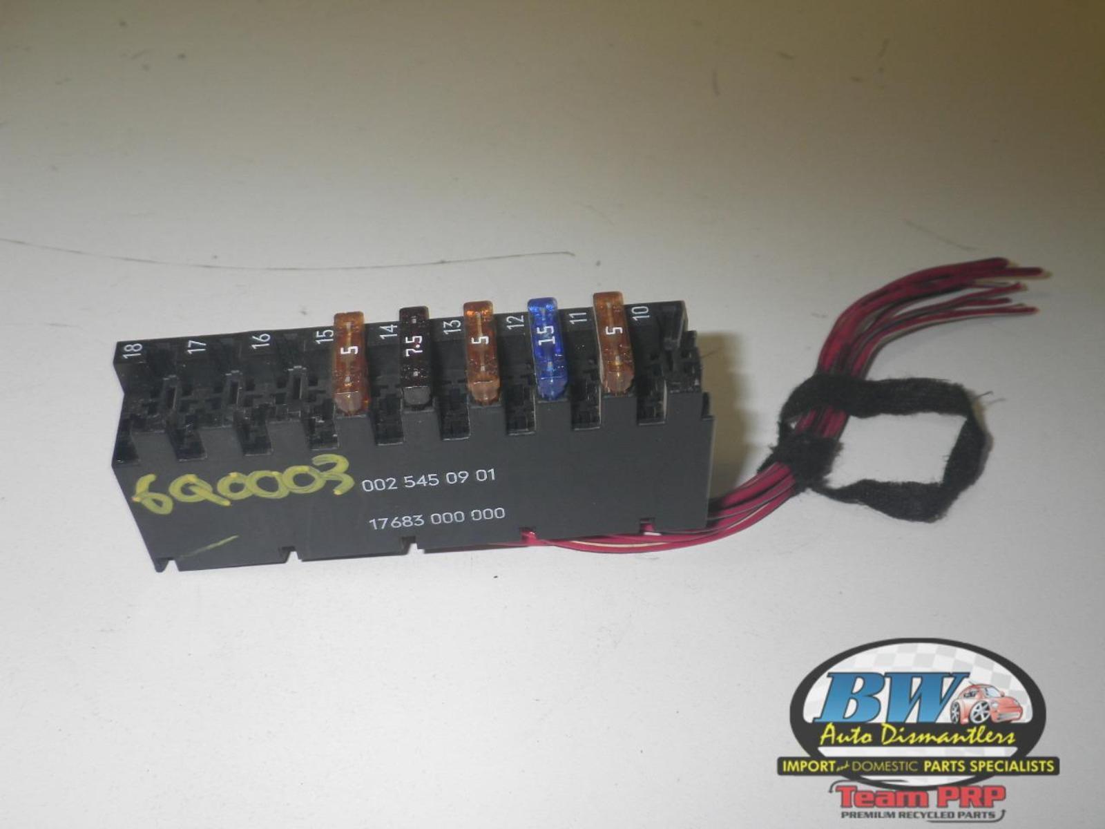 0025450901  Fuse Box  Oem Mercedes Clk320 Clk430 Clk500 Gl450 Gl550 Fuse Box