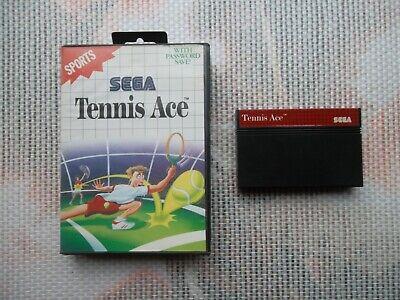 Jeu Master system / Ms Game Tennis ace + boite PAL retrogaming SEGA original *