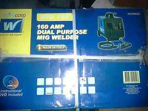 Mig Welder 160 amp Dual Purpose by Weldcorp - NEW in box! Regents Park Logan Area Preview