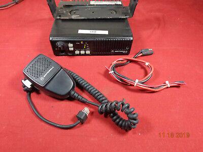 Motorola Maxtrac Uhf 16ch Mobile Radio Model D34mja7da5ck  Xtras B27