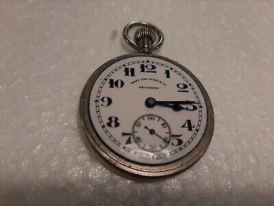 Vintage Pocket Watch West End Co Secundus