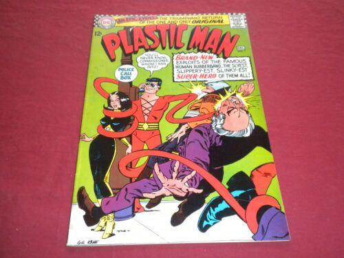 IA1 Plastic Man #1 dc 1966 silver age 5.5/fn- comic!