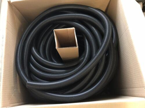 "15 Feet 1"" Split Wire Loom Conduit Polyethylene Tubing Black Color Sleeve Tube"