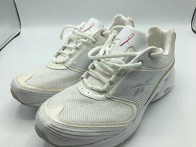 Reebok Womens size 10 Athletic Shoes Running Walking Susan G Komen Pink Ribbon Reebok Womens Pink Ribbon