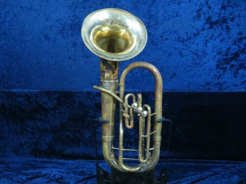 Holton 185 3 Valve Baritone Horn Ser#361517 w/Removable Bell w/Smooth Valves