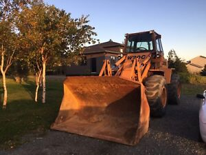1987 case W20c wheel loader